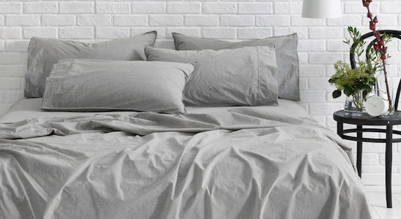 Image of the 'Luxe Linen Cotton Bedding' sale