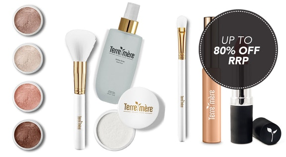 Image of the 'Terre Mere Organic Mineral Makeup' sale