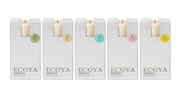Ecoya Pillar Candles