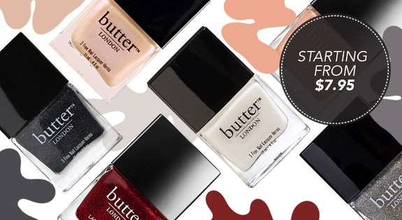 Image of the 'Butter London' sale