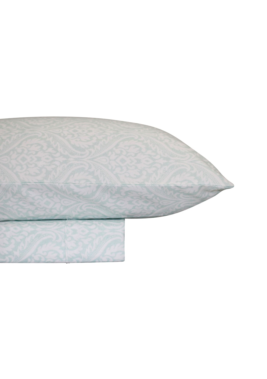 Thermal Flannel Sheet Sets - Haven Design - Ice - Single Bed