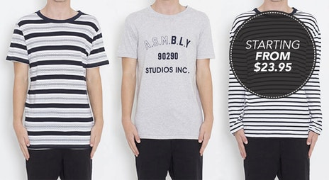 Image of the 'Assembly Label Mens' sale