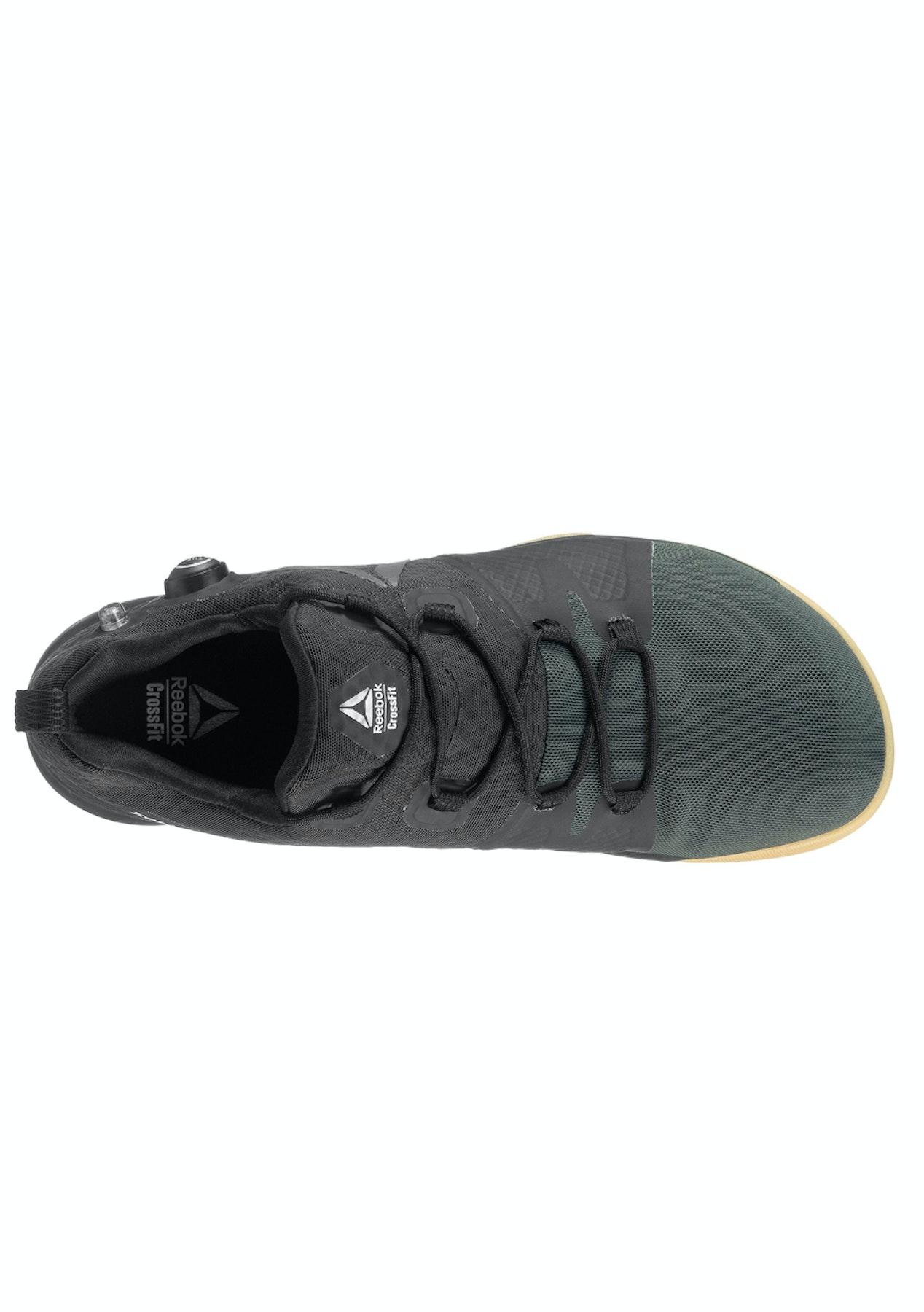 d3eca9fc6281ec Reebok Mens - R Crossfit Nano Pump - Black Coal Classic White Gum Pewter -  Mens Shoe Sale - Onceit