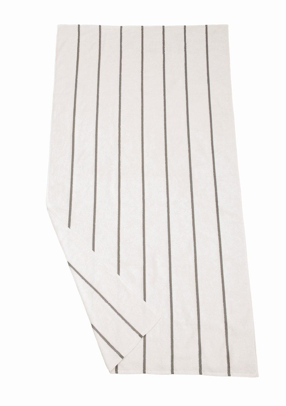 Shell Bay Beach Towel Grey