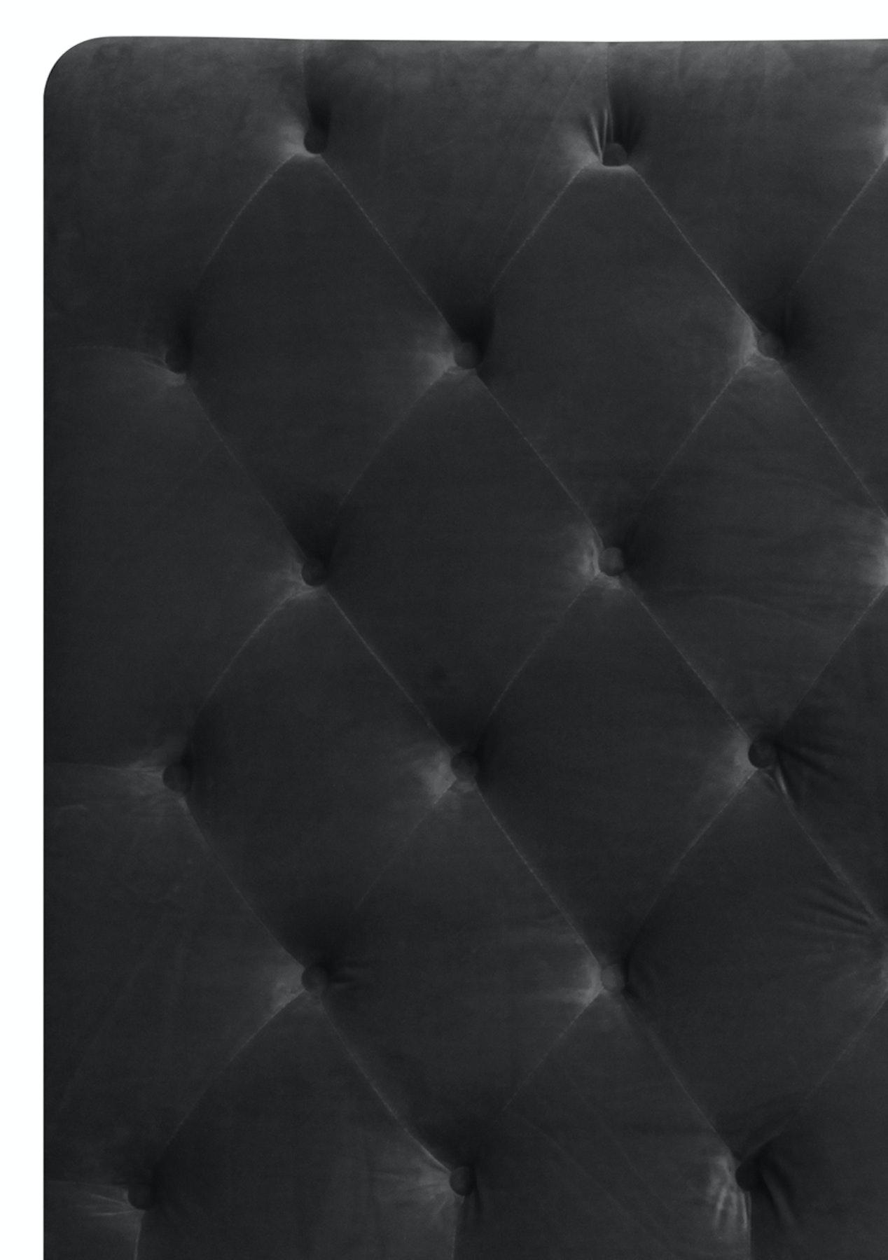 07dfeb51f7c1a George St. - Premium Velvet King Slate Grey Headboard - Premium Linen  Headboards