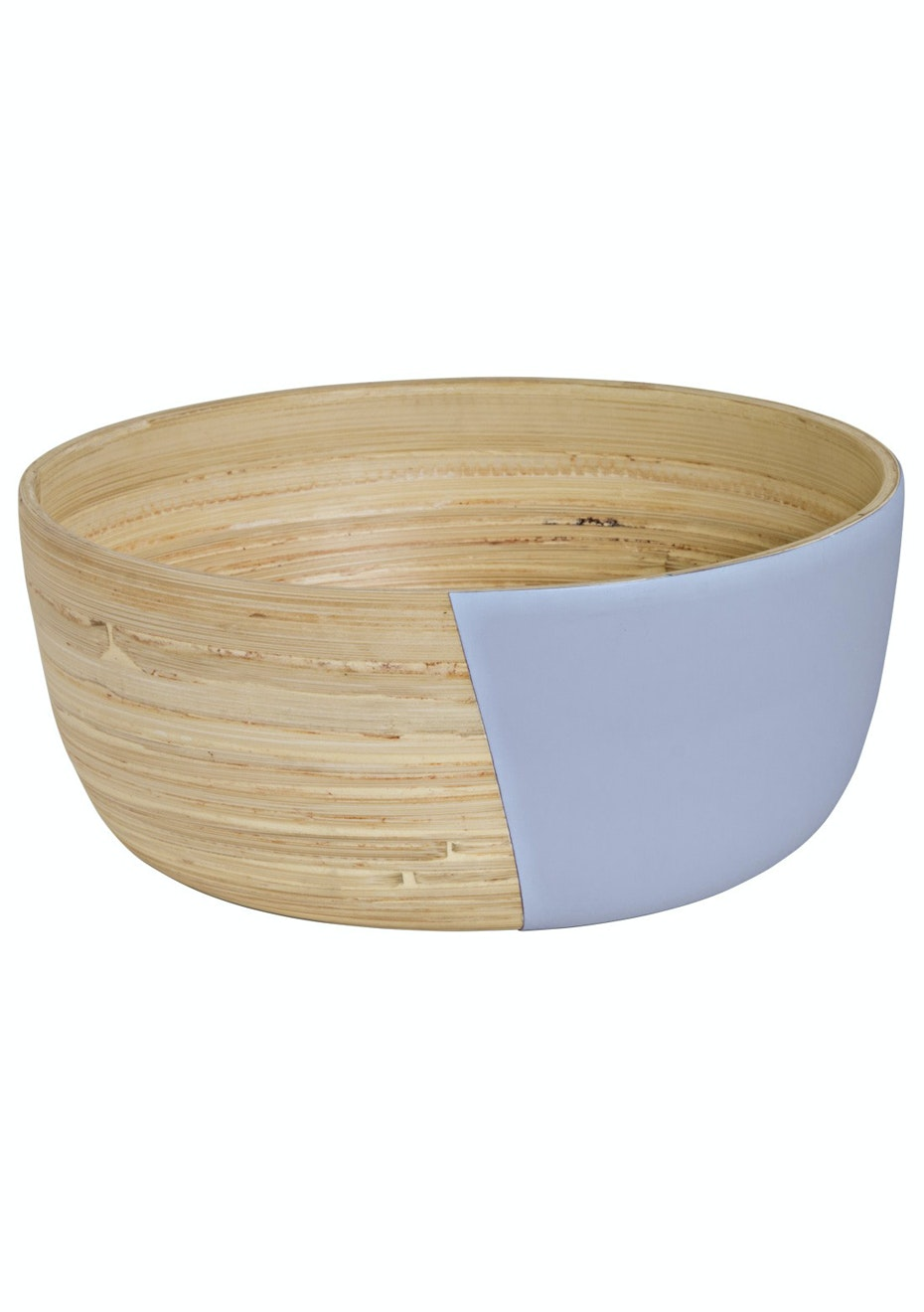 Jason - Lacquered Wooden Bowl Large - Lilac