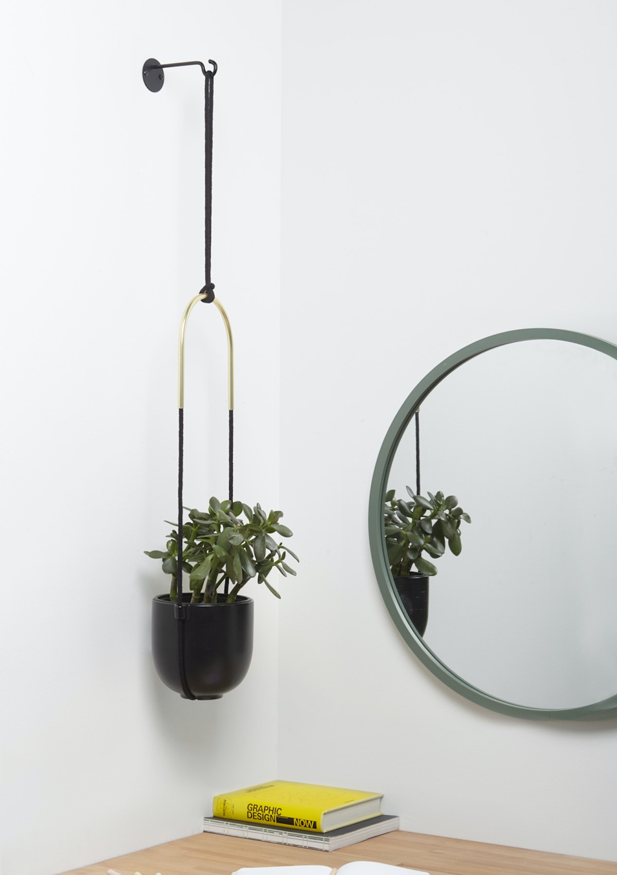 Umbra - Bolo Hanging Planter - Black - Stylish Gifts for the Home - Onceit