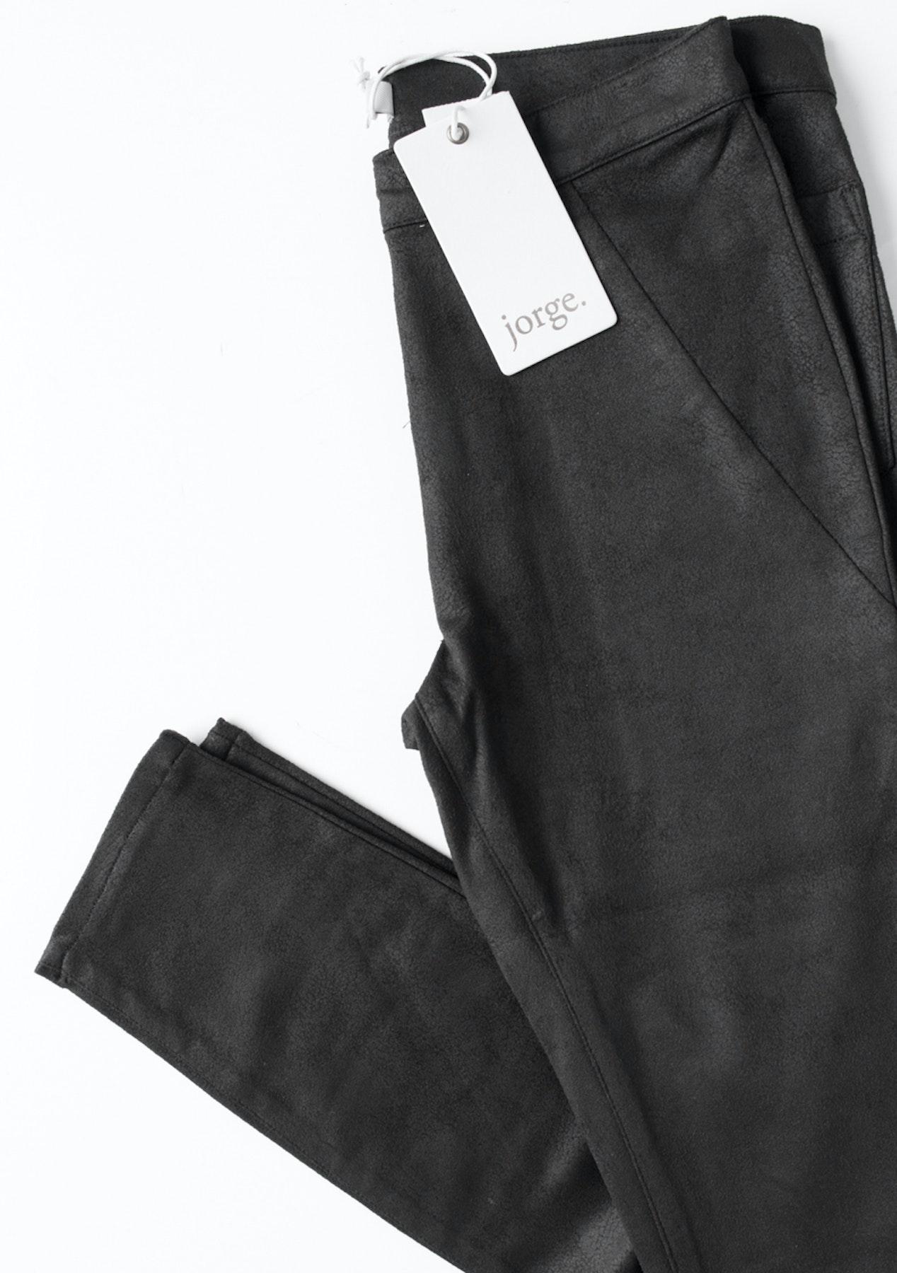 312c1cf4d4037 Jorge - Break Suede Legging - Black - The Big Rummage Rack from $10 - Onceit