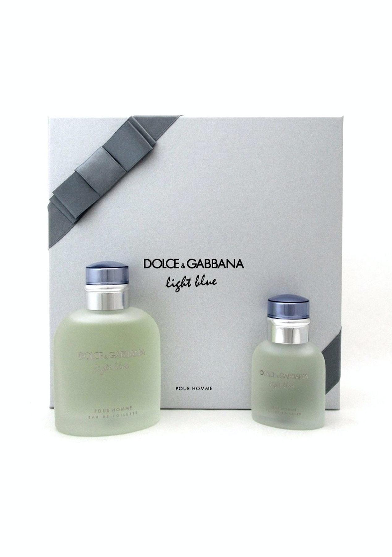bf8a8ec5b68c2 Dolce   Gabbana Light Blue Pour Homme 2 Piece Set - Gifts for Him - Onceit