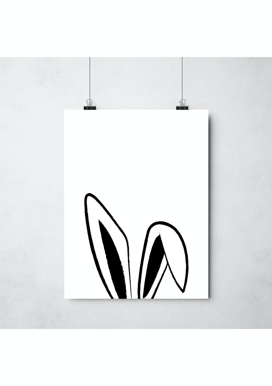 Simply Creative - Bunny - A3 Colour Print