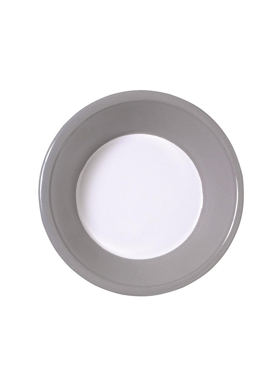 Città - Variopinte Enamel Cereal Bowl Pearl Grey  17.5cmdia