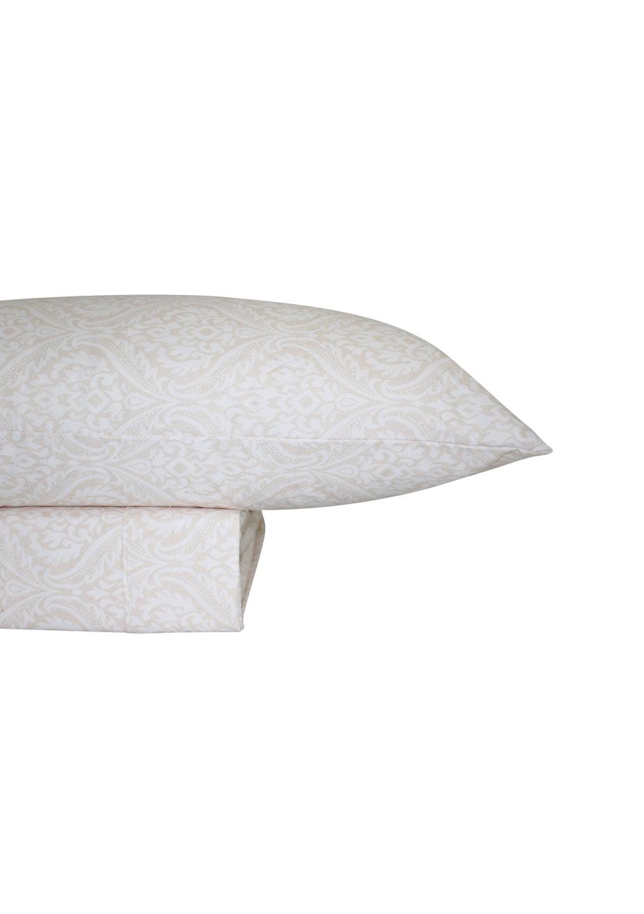 Thermal Flannel Sheet Sets - Haven Design - Sand - Single Bed