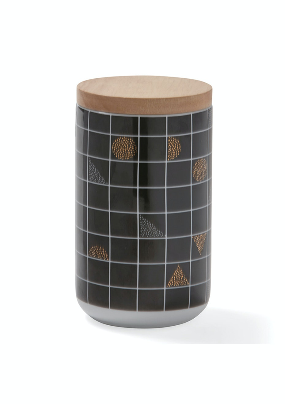 Me & My Trend - Xtall Black Grid Canister