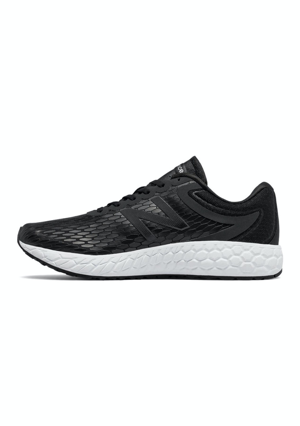 sale retailer 8b8d5 433b3 New Balance Mens - Fresh Foam Boracay v3 - Black with White - New Balance  Reductions - Onceit