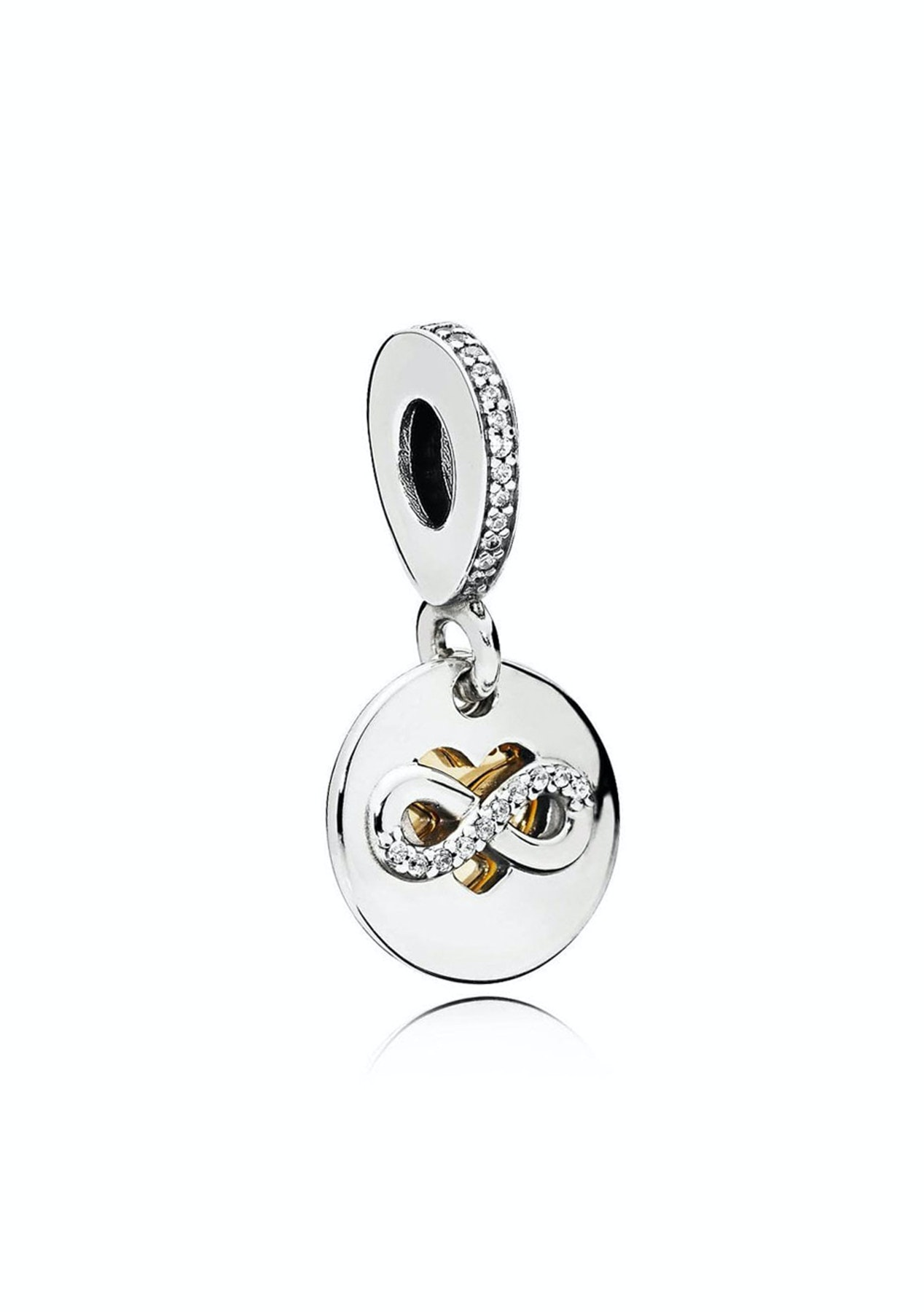 f5bf783d471ca PANDORA - Heart of Infinity Hanging Charm
