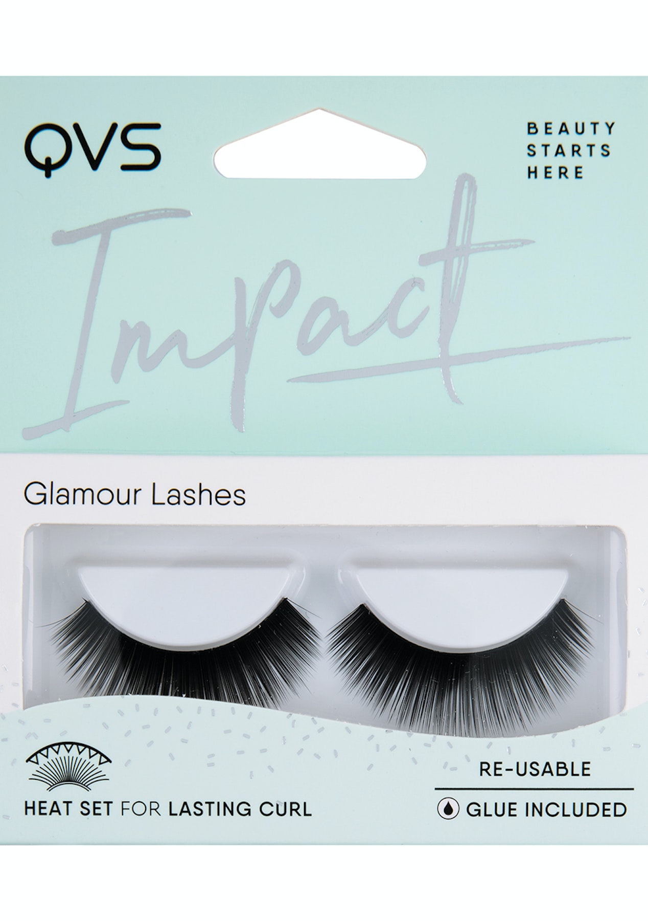 145bb007932 QVS - Natural Look Lashes - IMPACT - Free Shipping Must - Have Beauty Tools  - Onceit