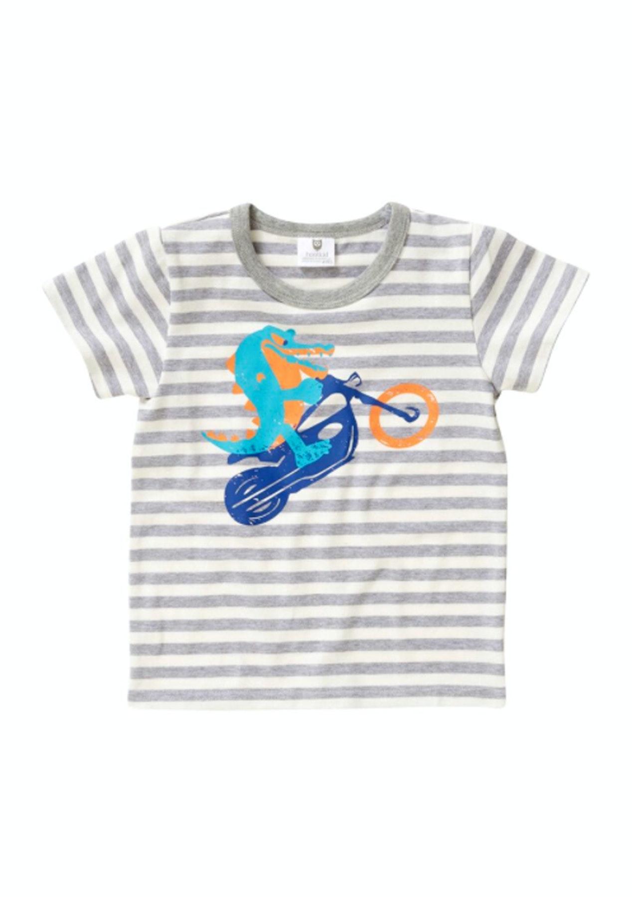 4bbc022cd Hootkid - Sweet Ride Tee - Grey Marle Stripe - Hootkid Everything ...