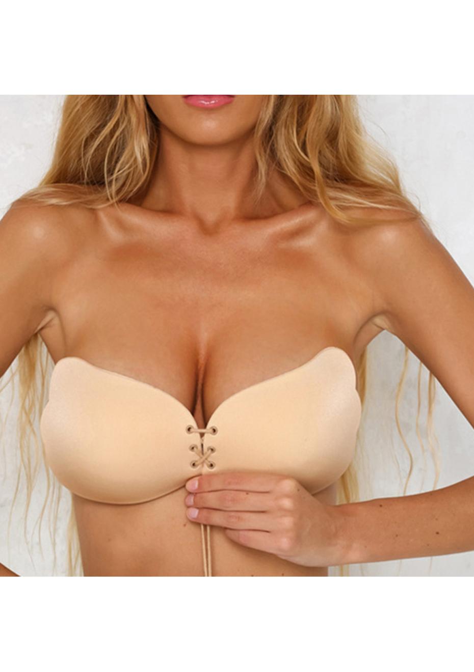 a20bfb939b29c Invisible angel bra nude strapless silicone nude invisible angel lift bra  onceit jpg 1268x1800 Angel bra