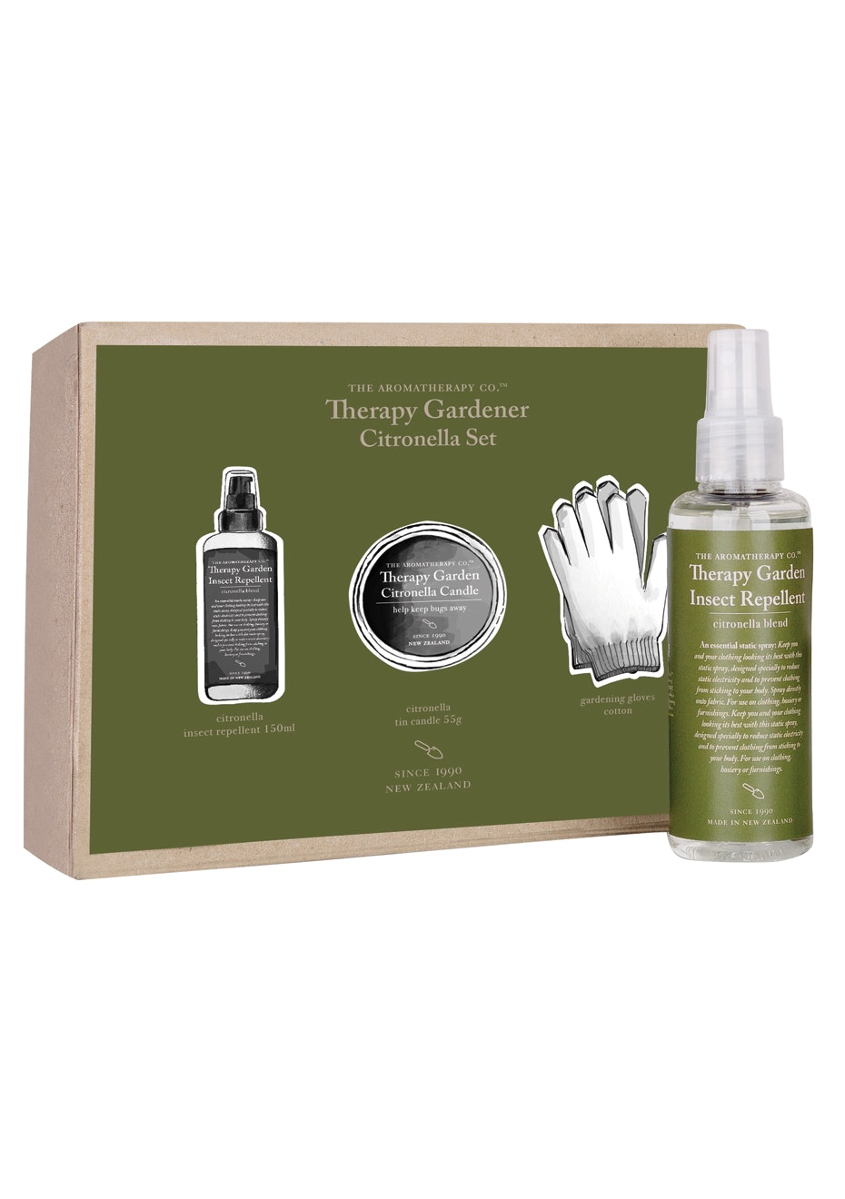 The Aromatherapy Co. Therapy Gardener Gift Set
