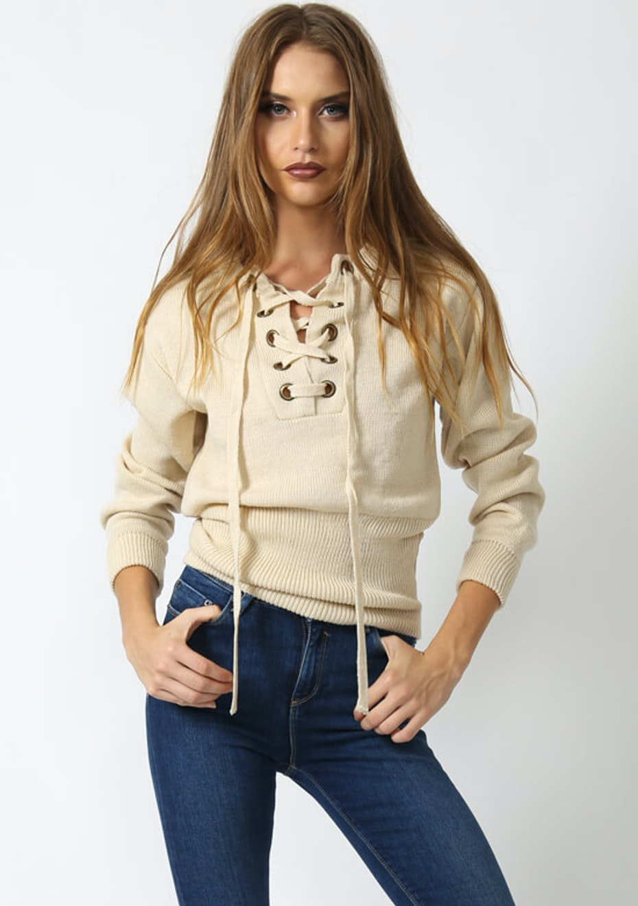 Lioness - Sicily In Dusk Knit  - Beige