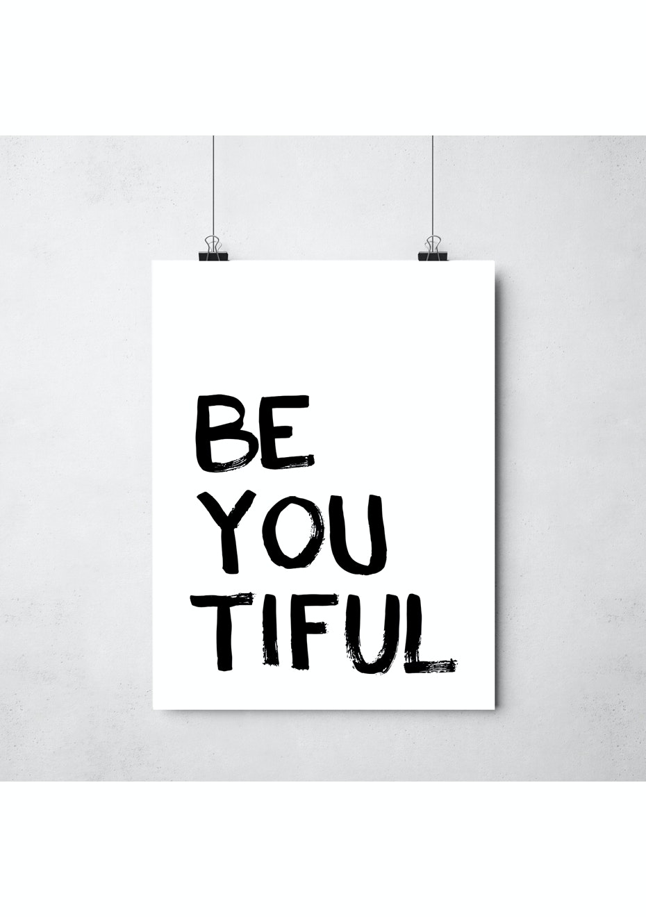 Simply Creative - Be You - A3 Colour Print