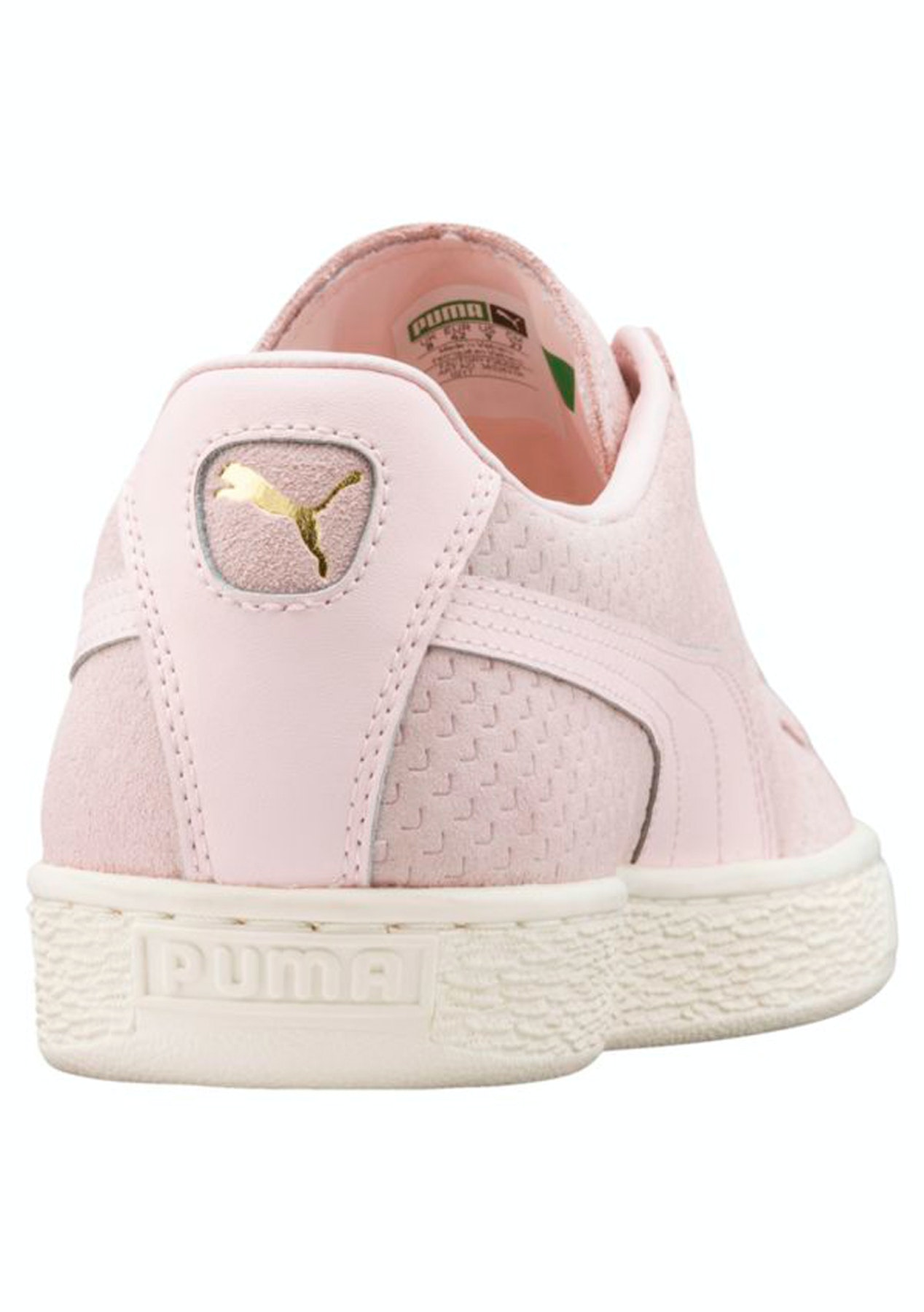 98a3d10a112 Puma Womens - Suede Classic Perforation Pearl - Puma Womens   Kids Up to 60%  Off - Onceit