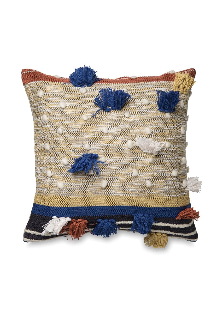 Città - Dayo Cushion Cover w/Tassels