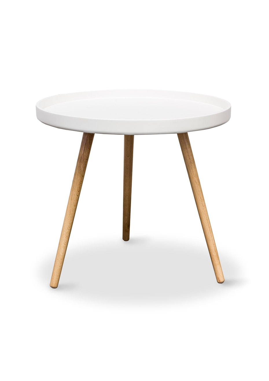 Furniture By Design - Radius Tray Table- White