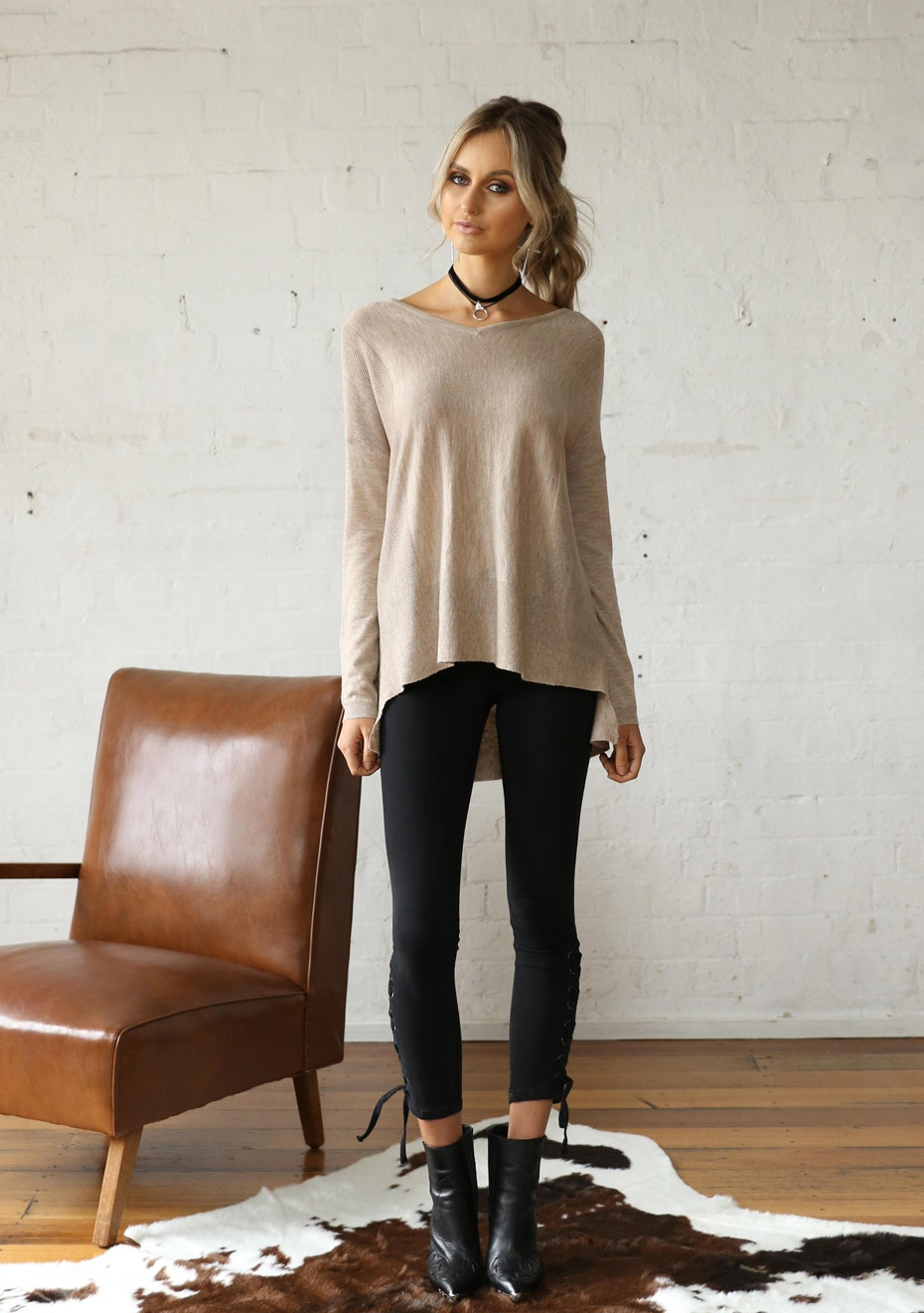 Madison - REVOLVER KNIT - BEIGE