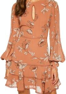 f1f32458946 Bardot - Tammy Trim Dress - Chestnut Floral