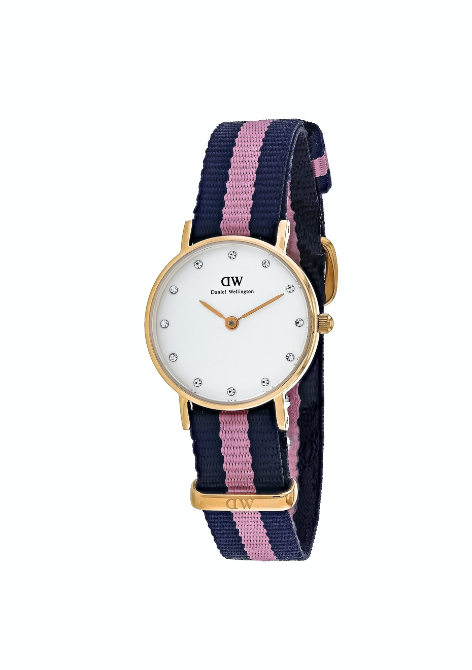 Daniel Wellington Women's Glasgow - White/Blue & Pink