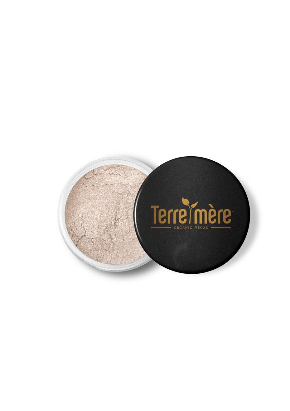 Terre Mere - Mineral Eyeshadow - White Moonstone