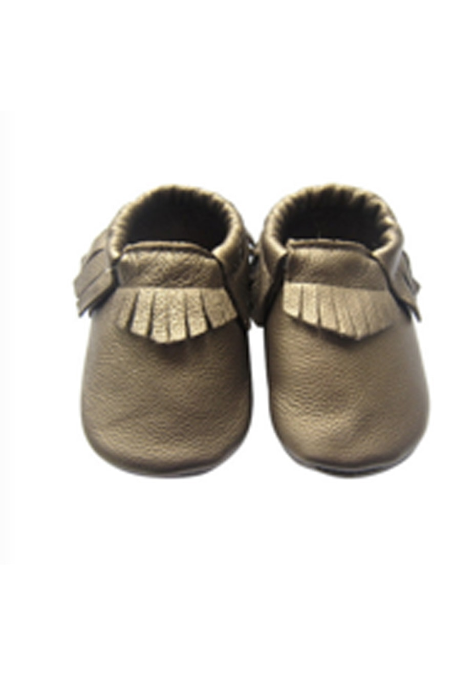 Baby  Leather Shoes - Bronze