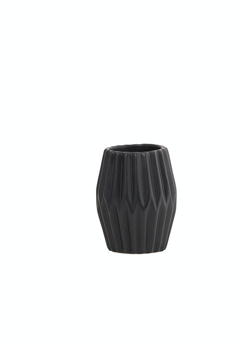 General Eclectic - Votive Porcelain Tall Black