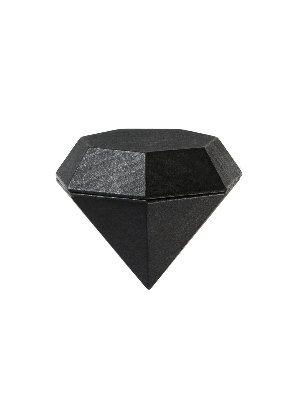 Areaware - Diamond Box Jewellery Box - Black