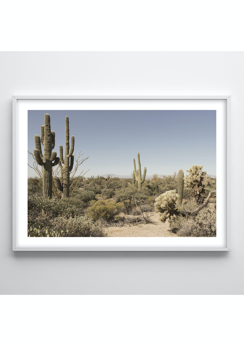 Simply Creative - Desert - A1 Colour Print