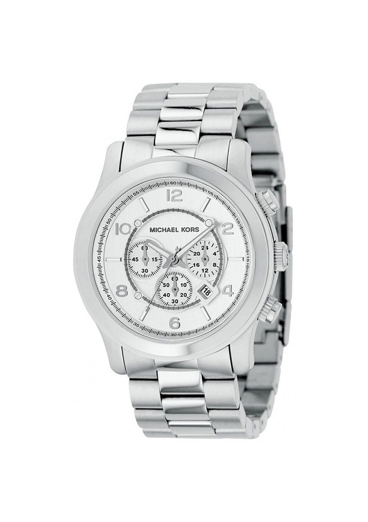f11e16d60351 Michael Kors Mens Classic - Silver Silver - Marc Jacobs   Michael Kors  Watches - Onceit