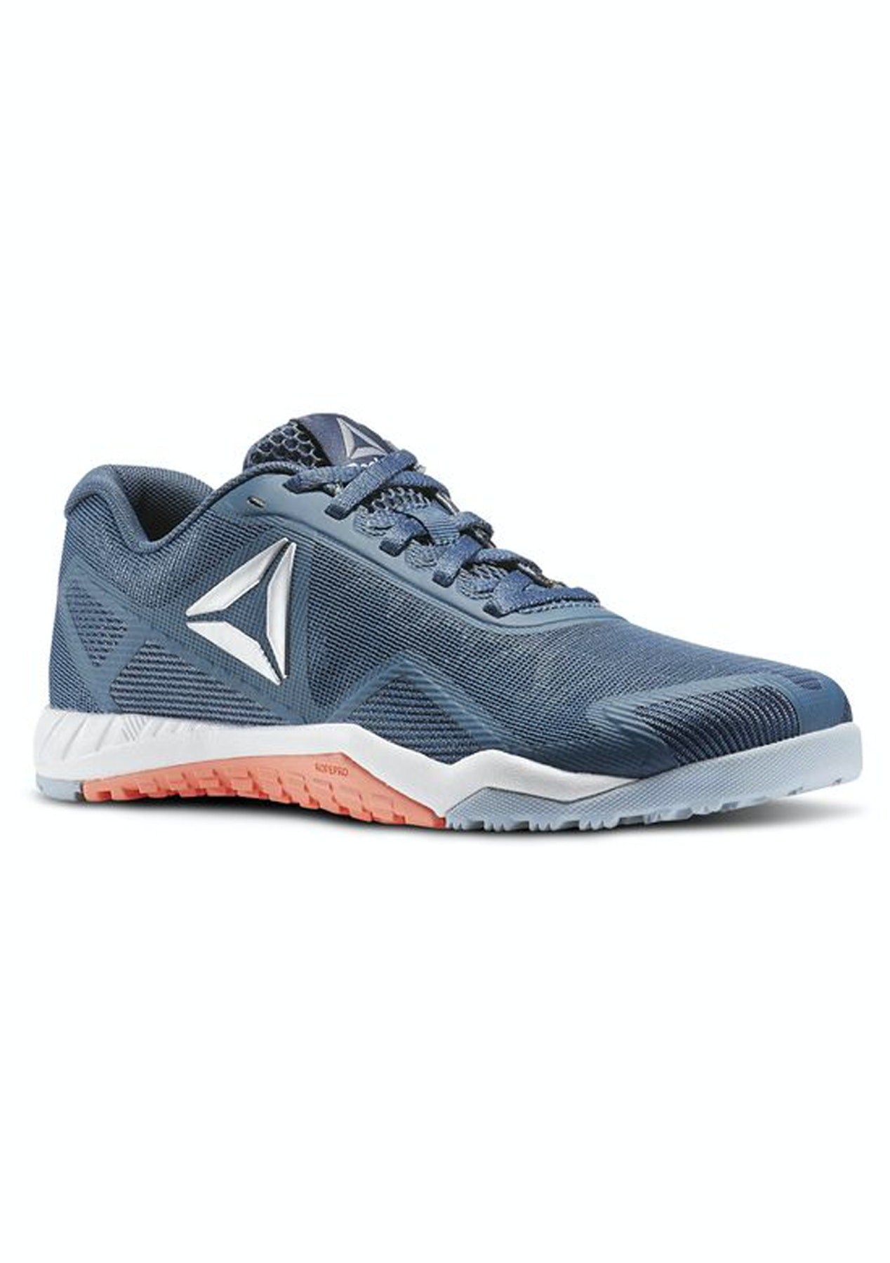 b874d9cfea856 Reebok Womens - Ros Workout Tr 2.0 - Brave Blue Gable Grey Stellar  Pink Pure Silver - Big Brand Womens Shoes - Onceit