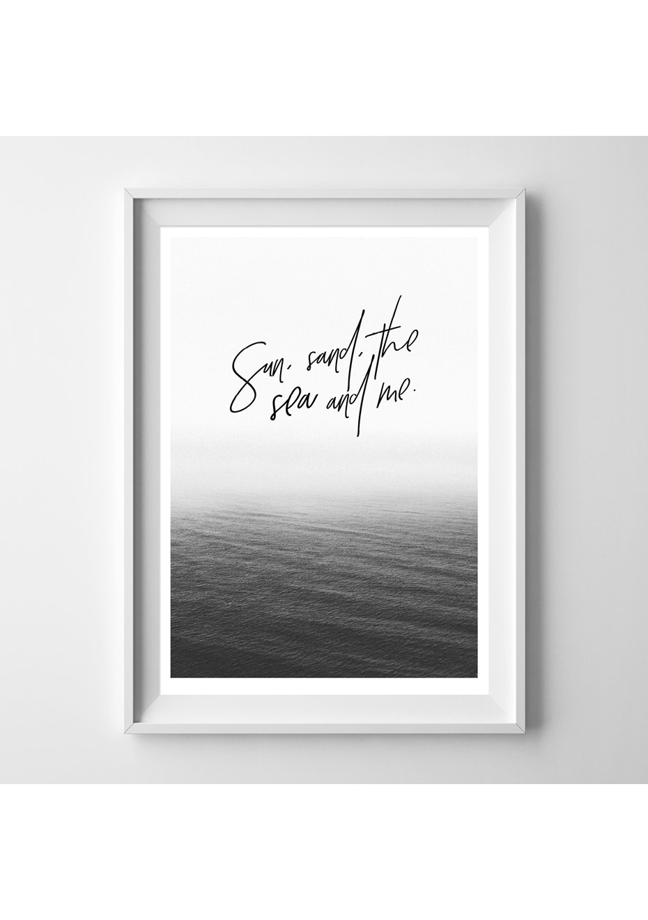 Simply Creative - The Sea And Me  - A4 Colour Print