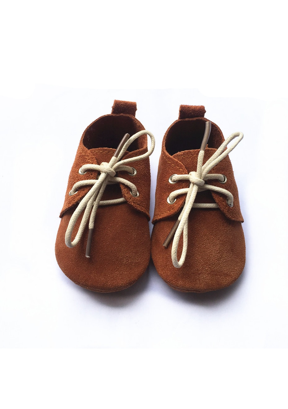Baby  Leather Shoes - Deer Brown