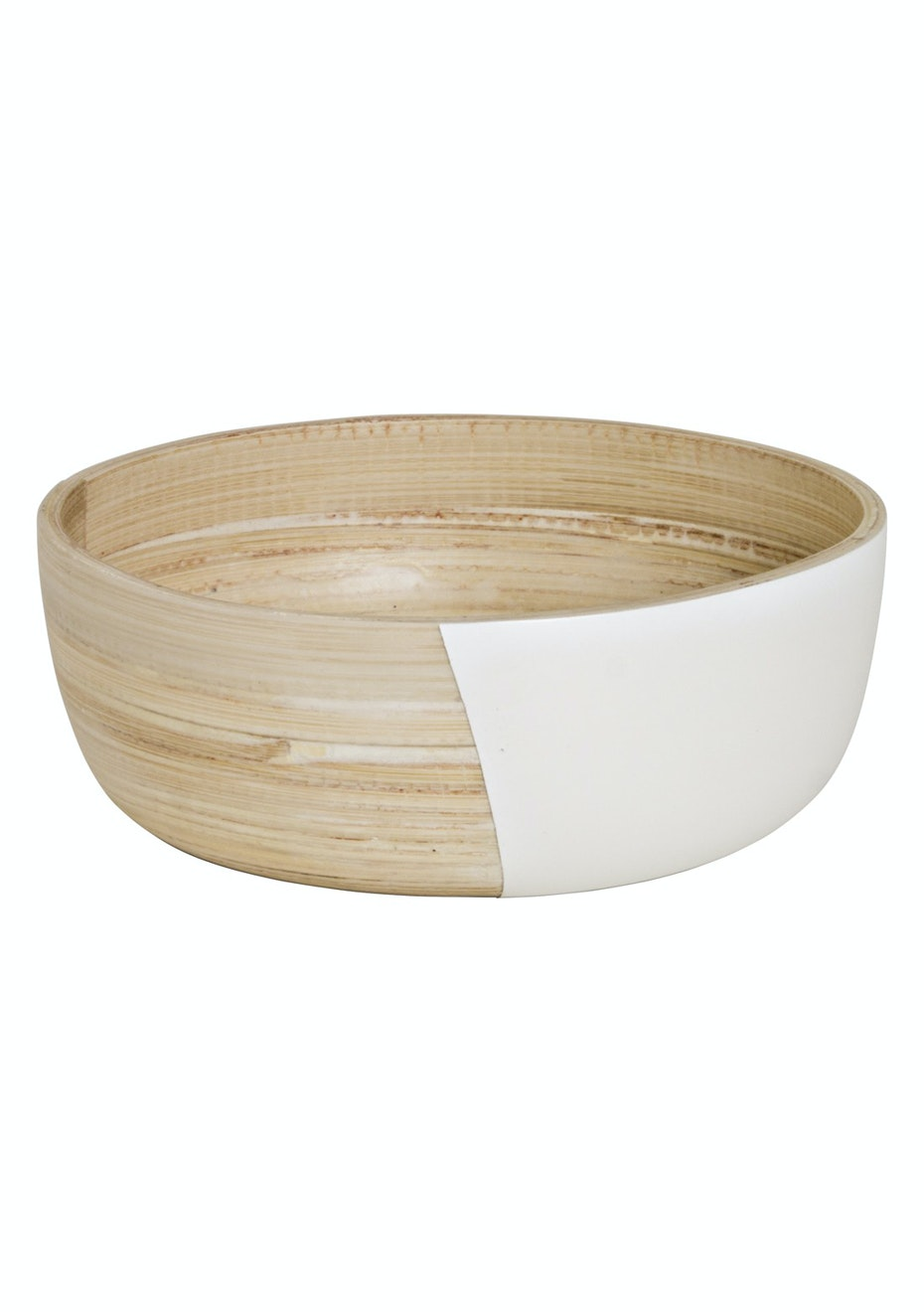 Jason - Lacquered Wooden Bowl Small - White