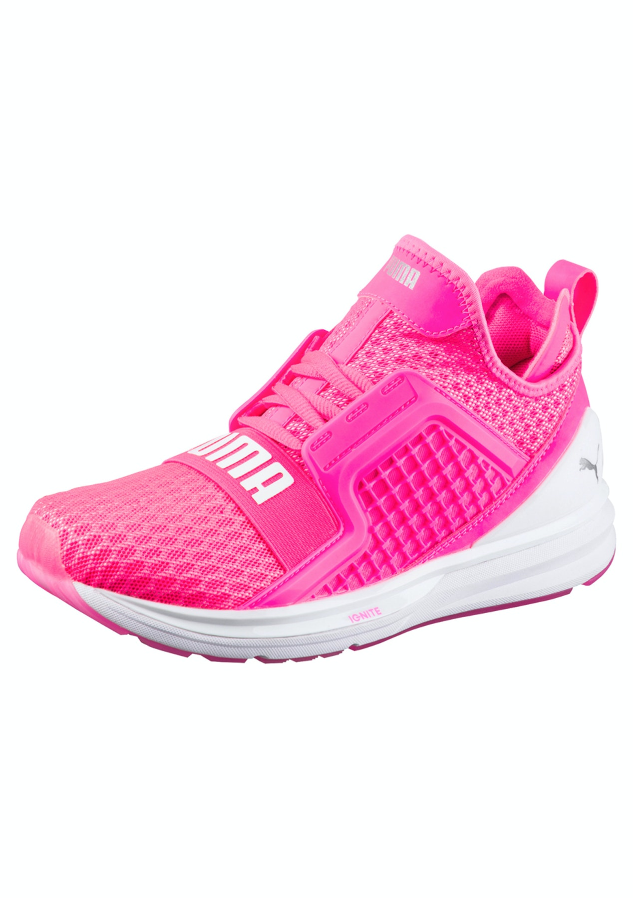 5fddb7ac358 Puma Womens - Ignite Limitless Pink - Womens Garage Sale - Onceit