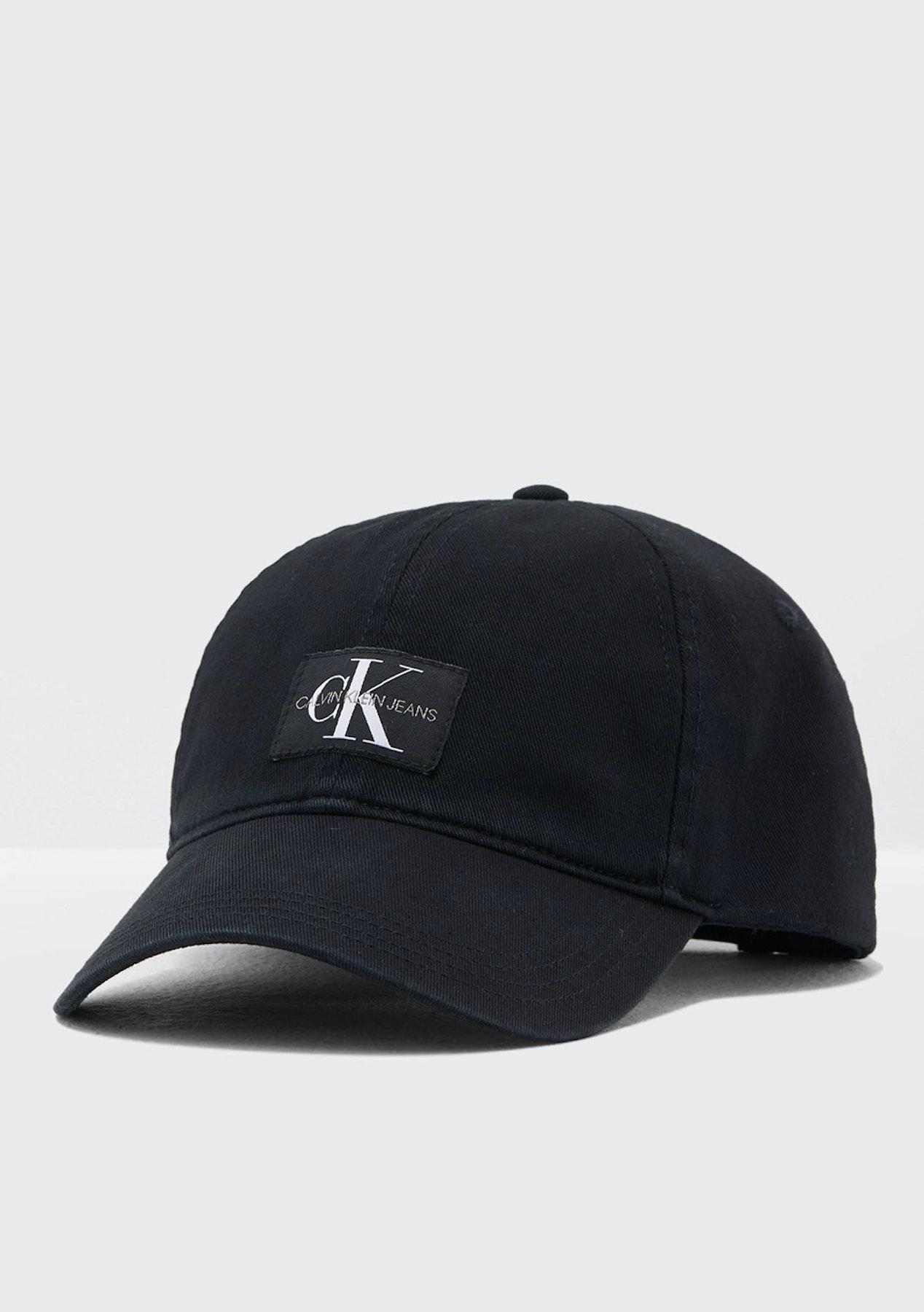 4864d0bff84 Calvin Klein - J Monogram Cap W - Black Beauty - Calvin Klein Restock -  Onceit