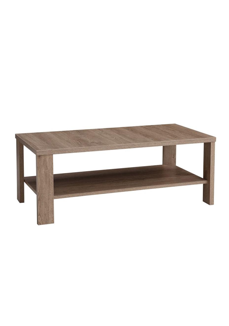 Enkel Coffee Table Dark Oak