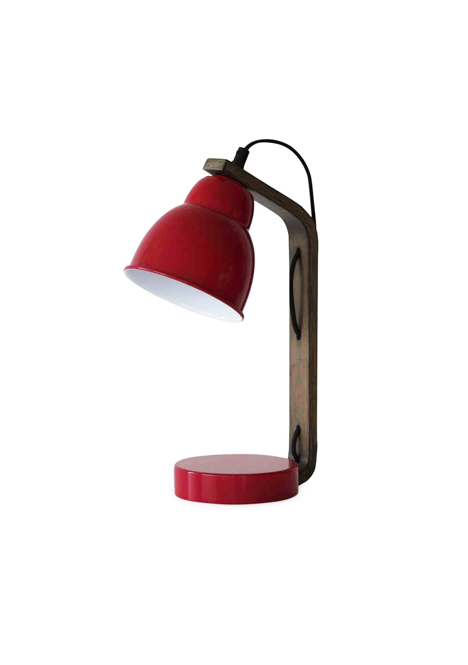 Me & My Trend - Marsala Red Curved Lamp