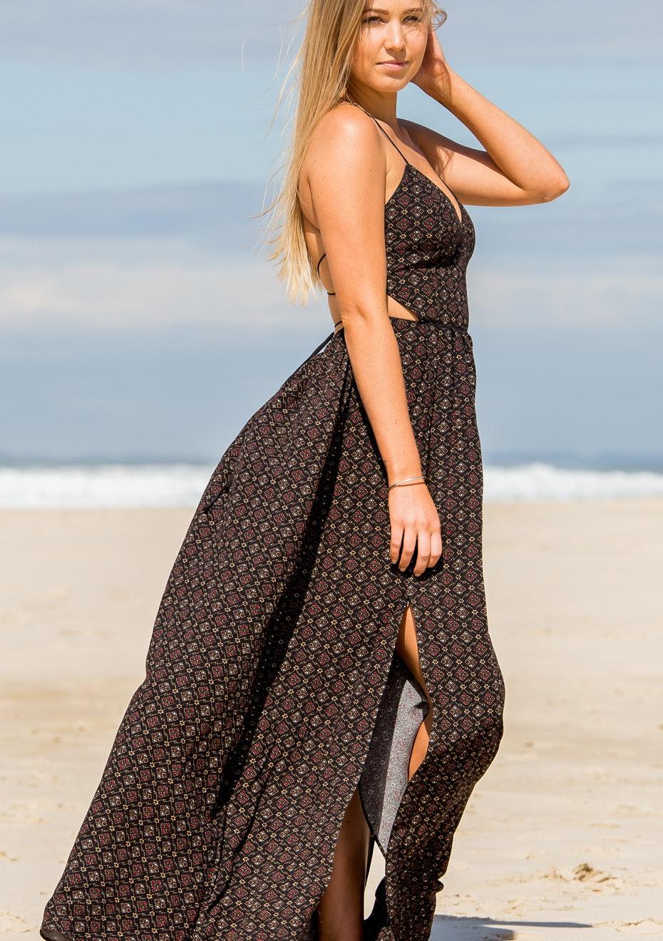 Gypsy Republic - Chasing Dreams Maxi Dress - Print
