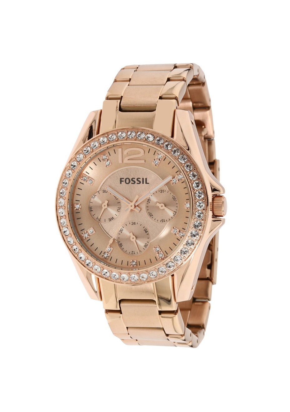 Fossil Women's Classic - Rose Gold/Rose Gold