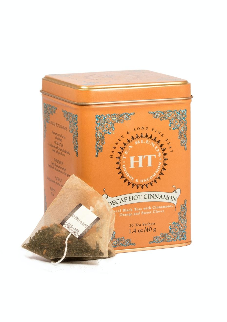 Harney & Sons - Decaf Hot Cinnamon - 20 Sachet Tin