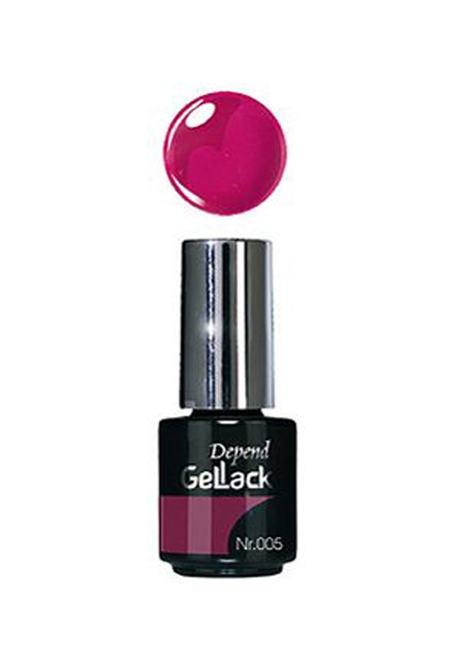 Depend Gellack Colour 005 Raspberry Red