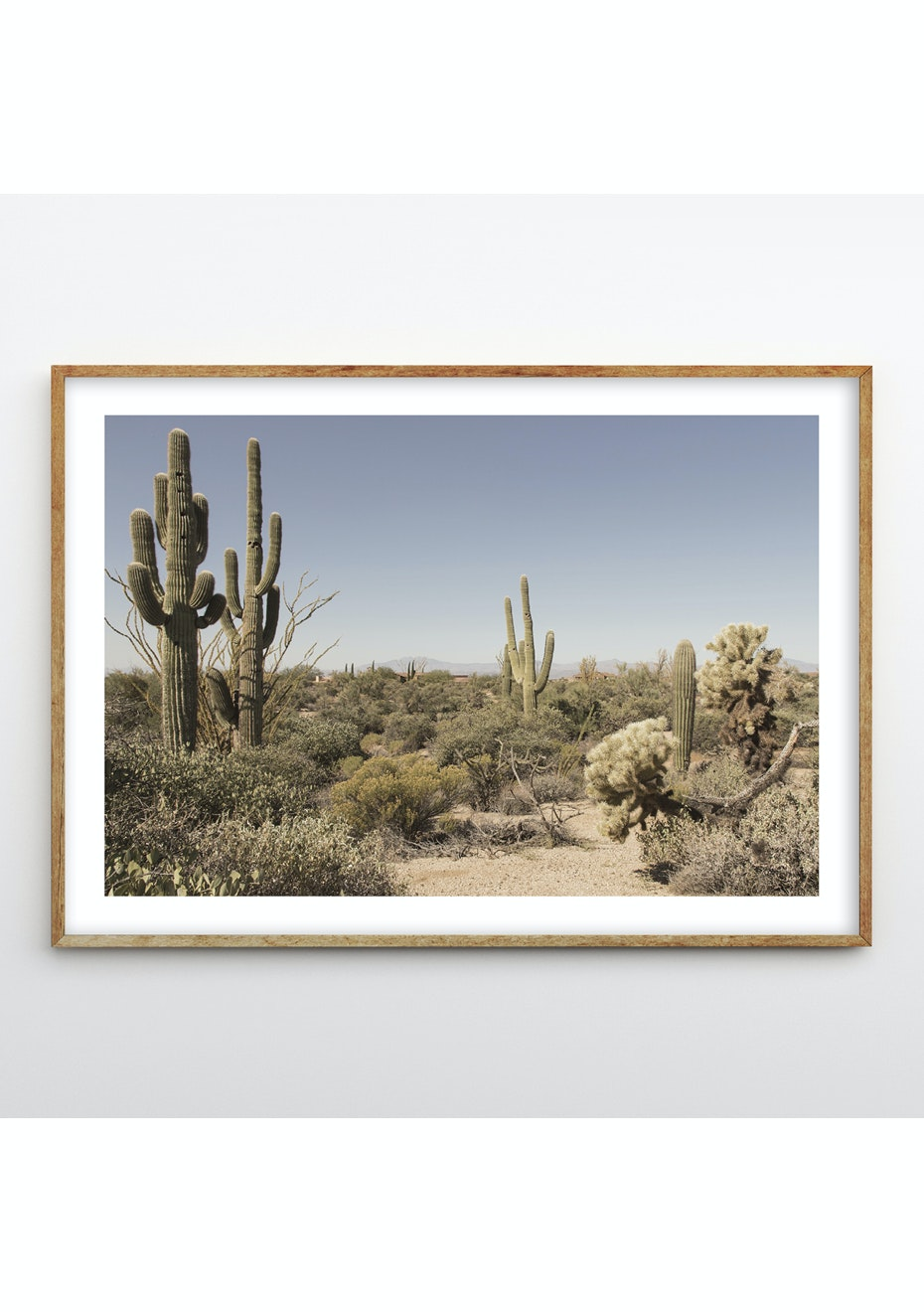 Simply Creative - Desert - A2 Colour Print